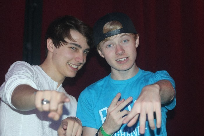 Sam and Colby - Boys Of Summer M&G - 8/16/15 - Jhanna Shaghaghi
