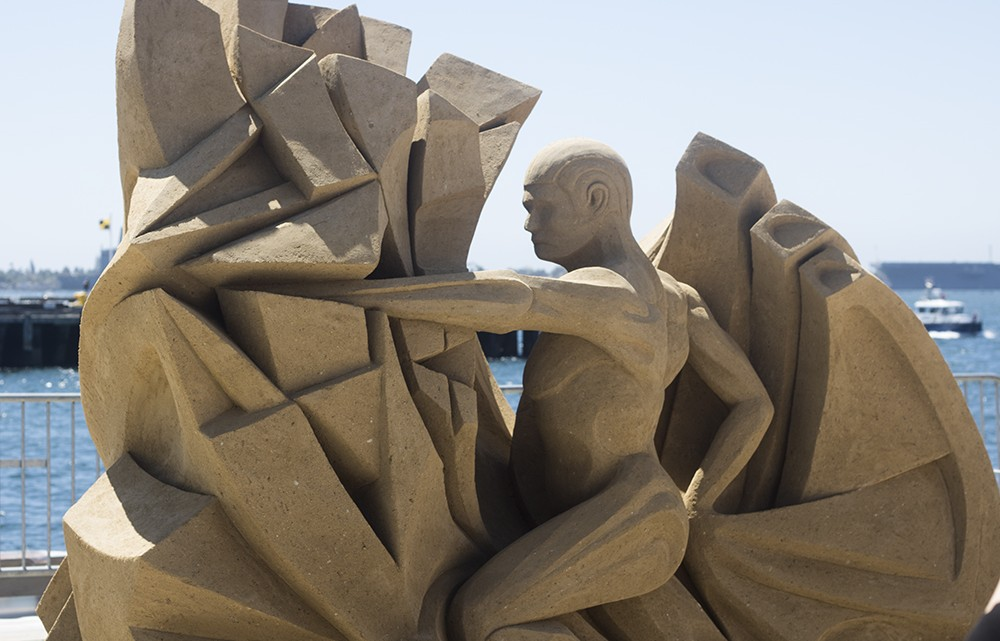 The Threshold of Momentum - U.S. Sandsculpting Challenge - 9/6/15 - Jhanna Shaghaghi