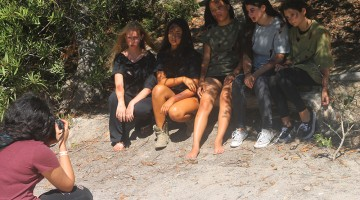 Jhanna Shaghaghi, Kaia Scheirman, Emily Hood, Mo Kern, Melissa Ardila, & Áine Kern - Zombie Photoshoot - Natasha Shaghaghi