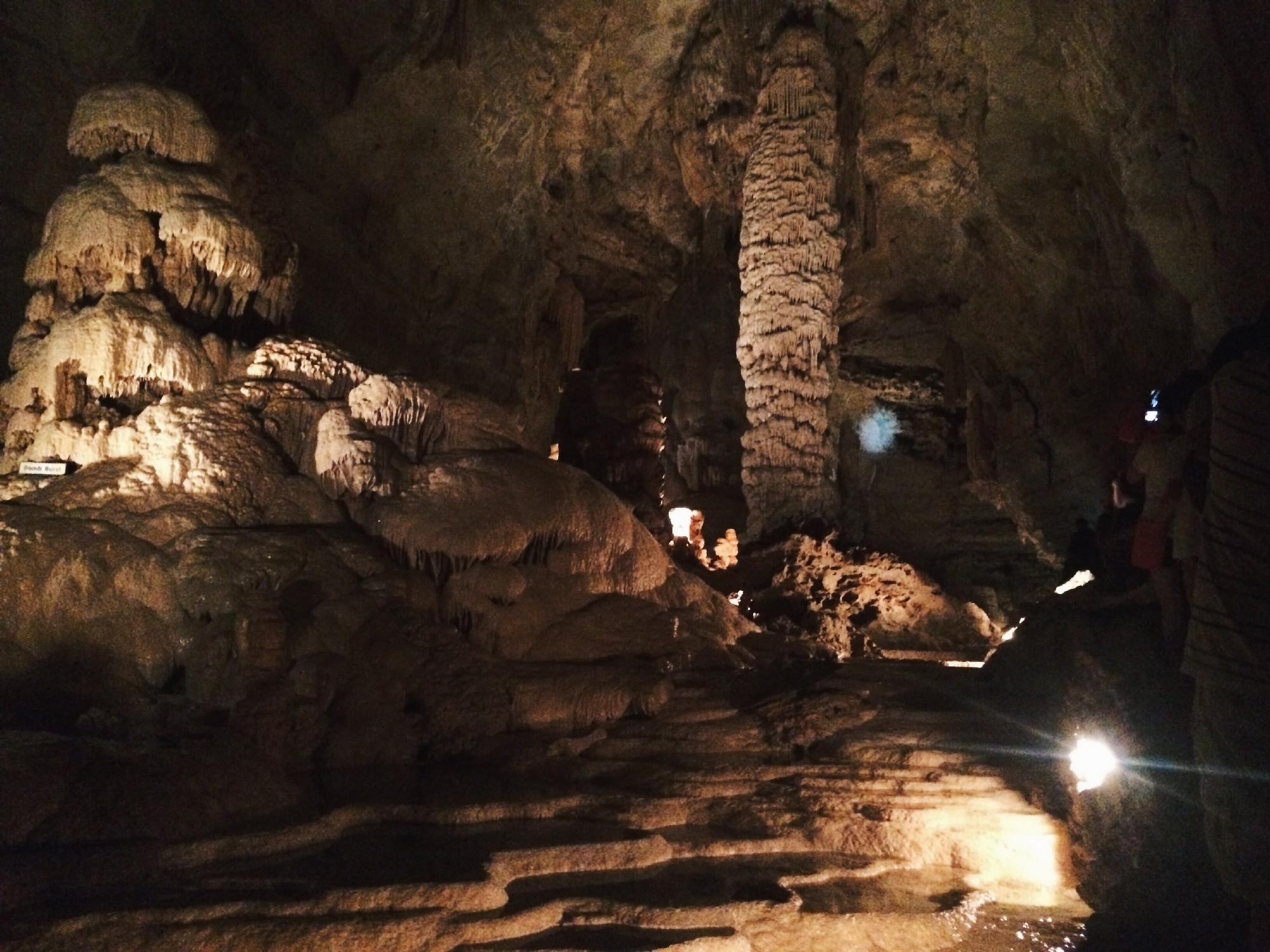Natural Bridge Caverns - Elilai Davis
