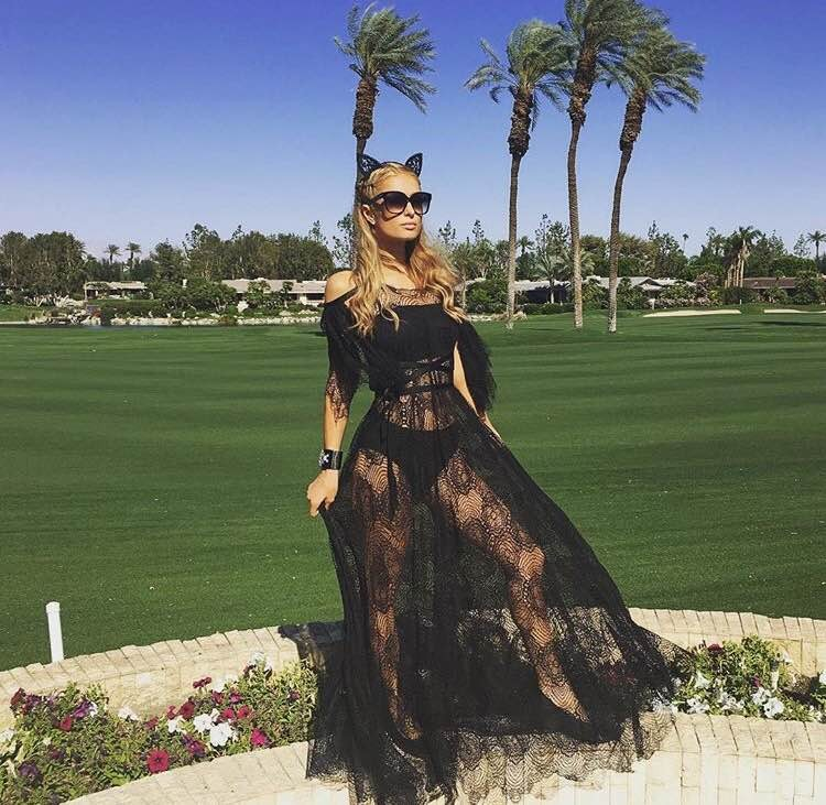 Paris Hilton - Coachella 2016