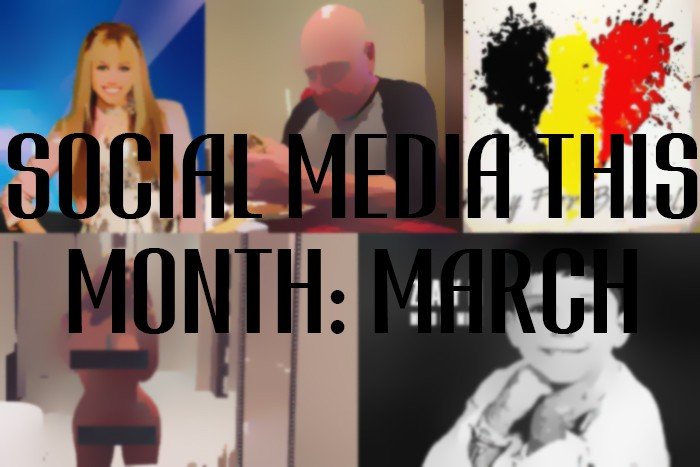 Social Media This Month: March