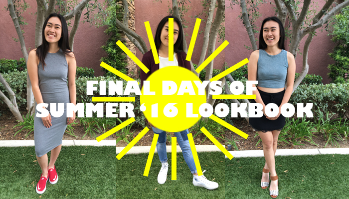 Final Days of Summer Lookbook - Annabelle Sundara