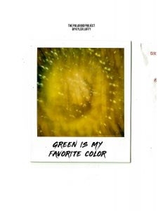 The Polaroid Project: Green is My Favorite Color